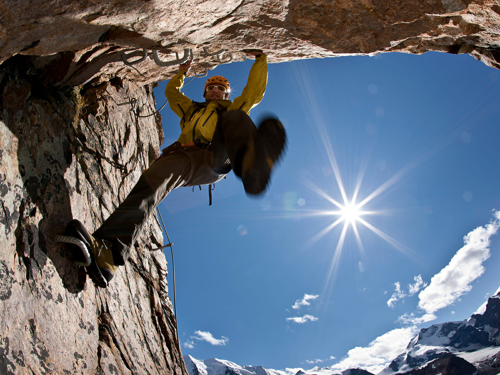 Klettersteig Piz Trovat : Klettersteig piz trovat ii bergsteigerschule pontresina