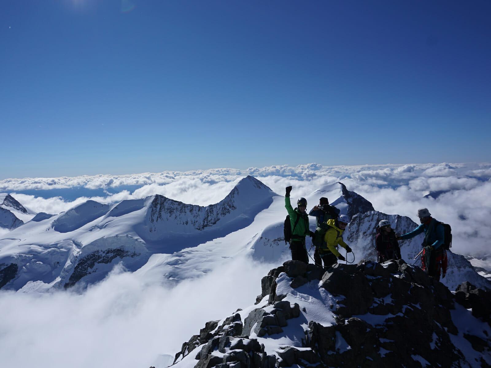 Piz Bernina 4049m Amp Piz Pal 252 3900m Bergsteigerschule