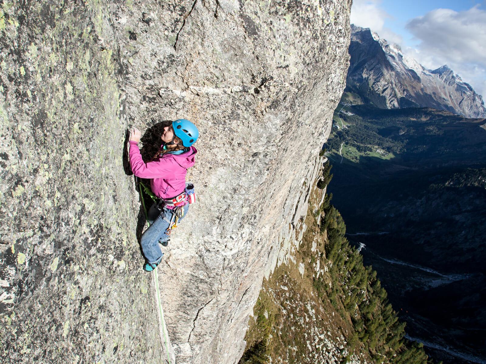Klettergurt Für Mehrseillängen : Mehrseillängen kletterkurs albigna bergsteigerschule pontresina