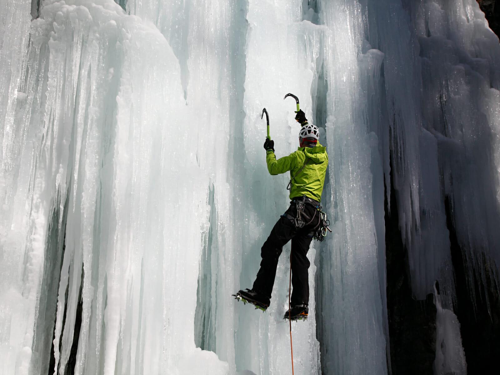 Klettergurt Eisklettern : Eisklettern schnupperkurs pontresina bergsteigerschule