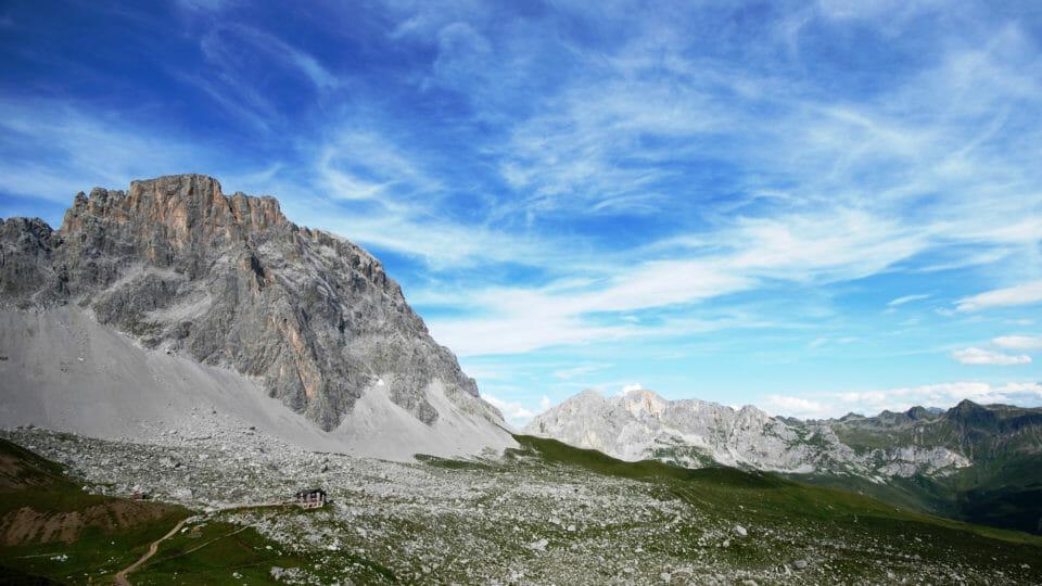 Klettersteig Sulzfluh : Sulzfluh bergsteigerschule pontresina